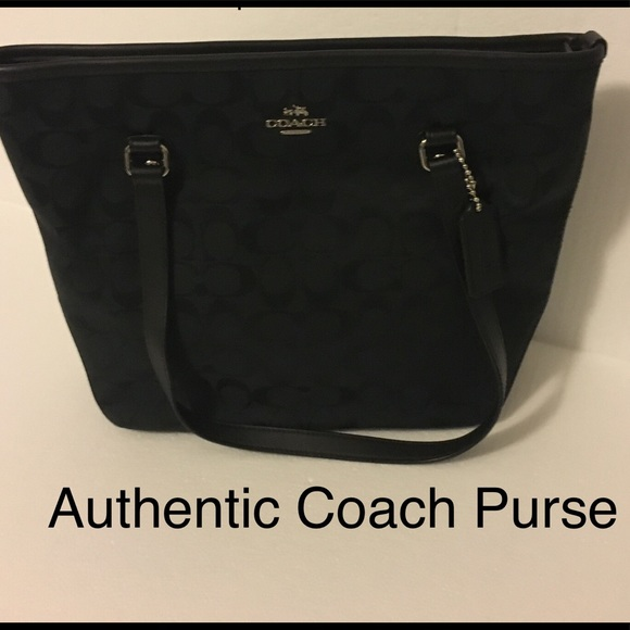 Coach Handbags - Authentic Black Coach Purse. Great condition.